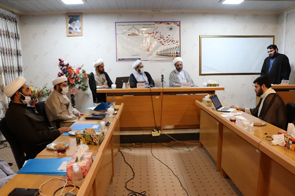 جلسات دفاعیه طلاب حوزه علمیه حضرت ولی عصر(عج) بناب