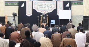 اولین جلسه اخلاق مشترک مدرسه امام باقر وامام صادق علیهما السلام با توصیه ها ورهنمودهای اخلاقی حاج آقا بنابی برگزار شد